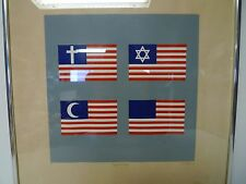Freedom of Religion by Paul M. Levy 1972 Artist Proof AP Signed Print Politcal