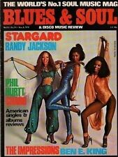 Stargard Blues & Soul Issue 263 1978   Charo   Randy Jackson   The Impressions