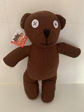 "Licensed Mr Bean Teddy Bear, 14"", 35cm Tall, Tiger Television, Doll, Toy, NEW"