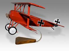 Fokker DR.1 Triplane Wood Desktop Airplane Model