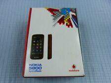 Nokia 5800 XpressMusic Schwarz-Rot! Gebraucht! Ohne Simlock! TOP! OVP! RAR!