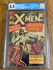 X-MEN #5- CGC 3.5 5/64 OW 3rd appearance of Magneto