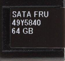 "IBM 64 GB 2,5"" SATA SSD Festplatte // 49Y5840 / 49Y5843 / 49Y5839"