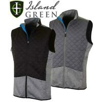 ISLAND GREEN 2019 LIGHTWEIGHT THERMAL PADDED GILET MENS GOLF VEST 40%OFF