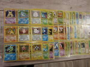 Complete full Base Set 2 130With Charizard Blastoise pokemon Lot Collection wotc