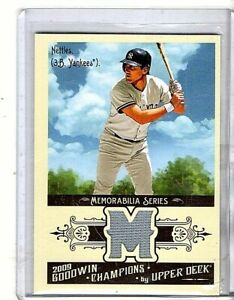 2009 Upper Deck Goodwin Champions Graig Nettles Game-Used Relic Card
