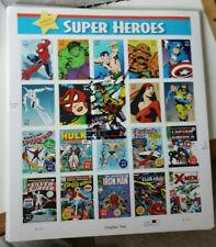 SDCC USPS MARVEL COMICS SUPER HEROES STAMP SHEET 06 CAPTAIN AMERICA SPIDER MAN