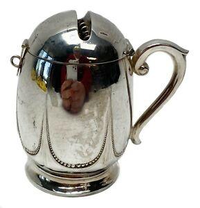 German 800 Silver Handled Muffineer