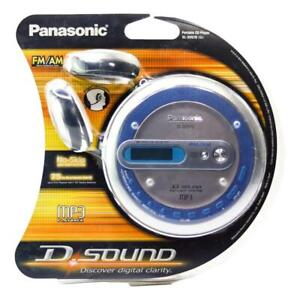 New Factory Sealed Panasonic SL-SV570 Portable CD/MP3 Player with FM/AM Radio