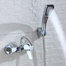 Bathtub Faucet Add A Shower Wall Mount Bathroom Modern Basin valve Mixer Tap US