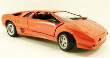 Diecast car Lamborghini Diablo orange 1:24 MotorMax Die Cast (73201 ) Model