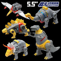 "MFT Robot G1 Mechine Dinosaurs Dinobots 5.5"" Action Figure Grimlock Sludge Swoop"