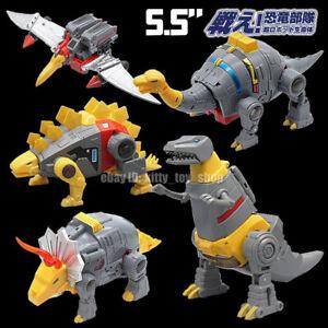 """MFT Robot Mechine Dinosaurs Dinobots 5.5"""" Action Figure Grimlock Sludge Swoop"""