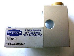 Schmalz SEA 10 Ejektor mit pneumatischem Abwurfsystem Neu