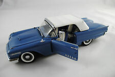 1:24 Danbury Mint - Ford Thunderbird Convertible 1958 blau RARITÄT neuw./OVP