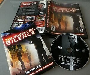 The Moment of Silence - adventure PC game - Uk Version vgc
