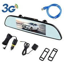 6.86'' 3G Car DVR GPS Android 5.0 1080P Rear View Mirror Monitor Reverse Camera