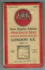1940-1949 Date Range Antique Europe Folding Maps