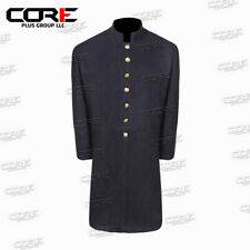 Civil war Union Junior Officer Single Breasted Navy Blue Frock Coat All Sizes