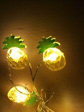 Mini Pineapple String Lights 10 Tweens Night Light