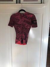 Rapha Women's Souplesse Flyweight Jersey Graffiti Print Short Sleeve Pink/Black