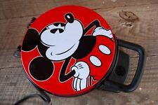 Mickey Mouse Waffle Maker Face Ears Shaped Iron Baker Disney
