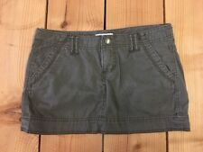 EXPRESS Womens Brown Skirt With Pockets And Belt Loops Size 8
