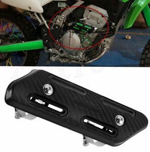 Black Carbon Look Motorcycle Exhaust Pipe Heat Shield Guard for Honda Suzuki
