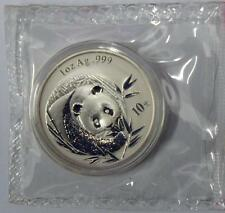 China 2003 Panda Silver Coin Genuine 1 OZ 10 Yuan UNC