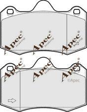 FRONT BRAKE PADS FOR SEAT IBIZA GENUINE APEC PAD1721