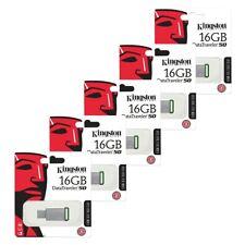 5x 16GB USB 3.1 Kingston Data Traveler DT50 USB Flash Drive USB 3.1 Memory Stick