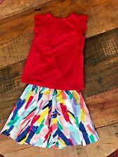 Girls Kate Spade Skirt Shirt Set, Size M