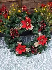 Artificial Christmas Wreath - VGC - Christmas 🎄 Home Decor!