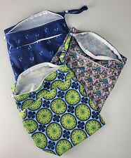Cloth Diaper Lot of 19, with liners and wet dry bags, Unbranded Alva KaWaii One