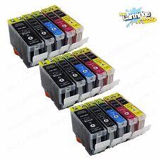 15 PK Ink For Canon PGI-5 Cli-8 W/ Chip Pixma iP4200 iP4300 iP4500 MP600 MP800