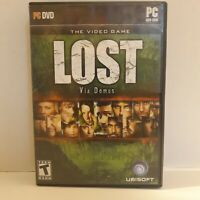 LOST Via Domus the Video Game PC DVD ROM Teen