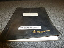 McKiernan Terry HP105 Hydraulic Power Pack Parts Catalog & Owner Operator Manual
