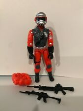 Black Major Custom GI Joe Cobra Red Shadow Steel Brigade New Color 2017