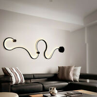 Acrylic Modern LED Lamp Chandelier Light For Living Room Bedroom Indoor Ceiling