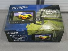 """WVOS713 Voyager Rear View Digital RV Motorhome Wireless Camera Back up System 7"""""""