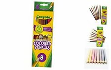 Crayola Multicultural Colored Pencils, 8 Assorted Skin Tone Colors