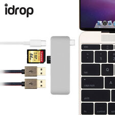 idrop 5 in 1 Type-c Hub Aluminum USB3.0 Adapter with PD-Power High Speed/2USB