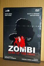 ZOMBI DAWN OF THE DEAD DVD NUOVO SIGILLATO GEORGE A. ROMERO ediz ALAN YOUNG **