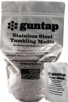 """8 Pounds Stainless Steel Tumbling Media Pins 8lb .047"""" x .255"""" Made in USA"""