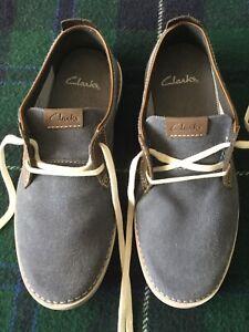 Clarks Mens Shoes Size 7G