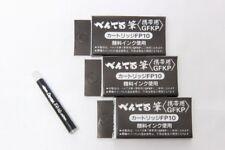 Pentel Arts Pocket Brush Refills Black Ink Value Set of 12 (3 packages)
