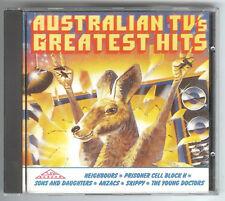 CD AUSTRALIAN TV's GREATEST HITS Silva Screen FILMCD 028 von 1988 pretty rare