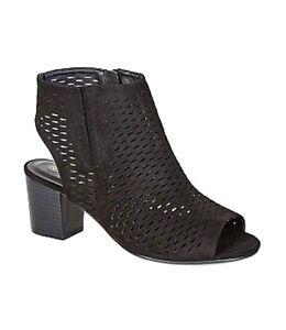 CITY CHIC shoes sz 6 / 37 Kiara Heel chic sexy black laser cut comfy BNIB!