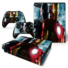 Xbox One X Sticker Set Protective Skin Console & Controllers - 0491 - Iron Man