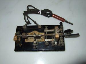 Antique Vibroplex Telegraph Key Serial #95225